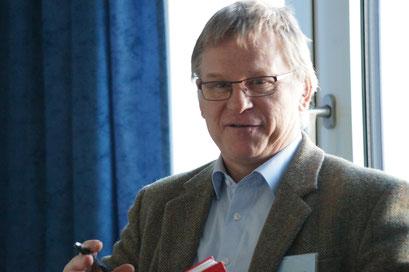 Dr. Georg Mildenberger, CSI der Universität Heidelberg | Social Talk 2016 © Sabine Schlitt, EKKW