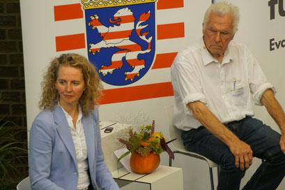 Dr. Ulf Häbel (Evangelischer Pfarrer, Laubach-Freienseen) beim II. Hessischen Engagementkongresses 2021 an der Ev. Hochschule Darmstadt.   © Foto: S. Schlitt, EKKW