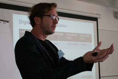 Dr. Michael Beier, HTW Chur | Social Talk 2016 © Sabine Schlitt, EKKW