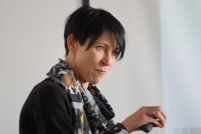 Judith Terstriep, Institut für Arbeit und Technik, Gelsenkirchen | Social Talk 2016 © Sabine Schlitt, EKKW