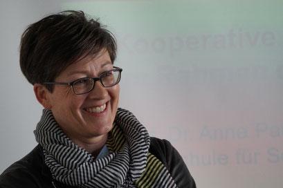 Prof. Dr. Anne Parpan-Blaser, Fachhochschule Nordwestschweiz | Social Talk 2016 © Sabine Schlitt, EKKW