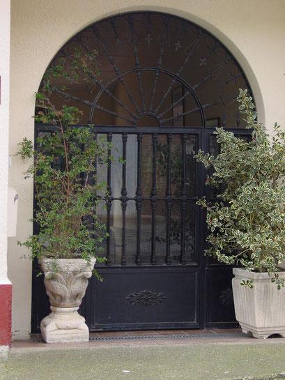 portal forja acristalado