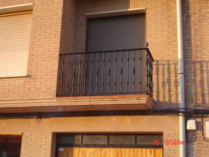 balcon forja