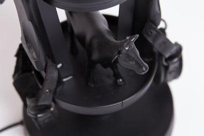 Lamp design 019 - Kamper koe bovenaanzicht
