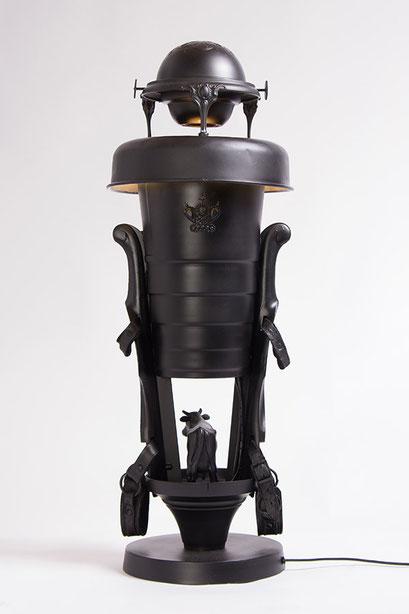Lamp design 019 - achteraanzicht