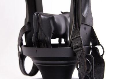 Lamp design 019 - Kamper koe achteraanzicht
