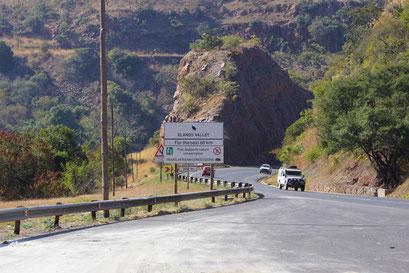 19.05.2014 Fahrt durch Elands Valley