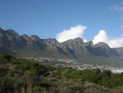 05.06.2014 Bergkette 12 Apostel zwischen Hout Bay und Kapstadt