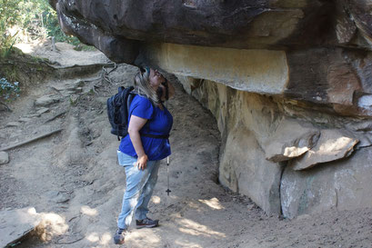 28.05.2014 Thukela Gorge Walk am Fuss der Drakensberge