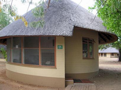22.05.2014 Unser Häuschen zum Übernachten im Krüger Nationalpark