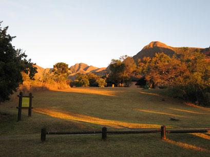 28.05.2014 Sonnenaufgang bei den Drakensbergen