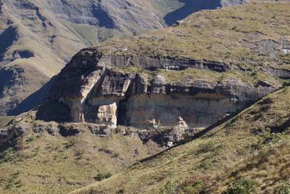 28.05.2014 Beeindruckende Kulisse: Drakensberge