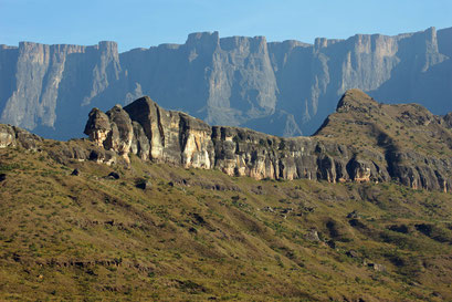 27.05.2014 Blick zu den Drakensbergen