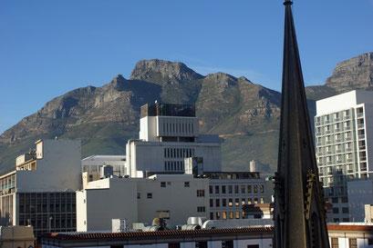 06.06.2014 Kapstadt mit Sicht auf den Tafelberg