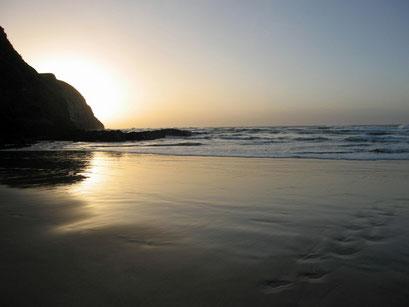 31.05.2014 Sonnenaufgang an der Coffee Bay