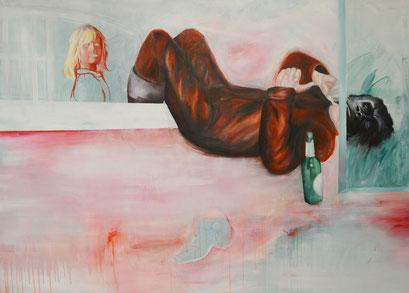 M.A.I., 2012, Acryl auf Leinwand, 210 x 150 cm