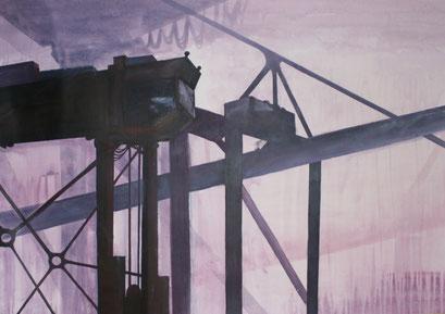 HH II, 2010, Acryl auf Leinwand, 90 x 60 cm