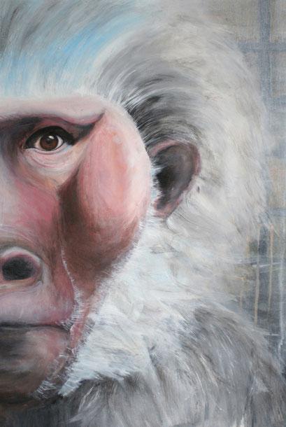 Andy W. lebt, 2010, Acryl auf Papier, 46 x 67 cm