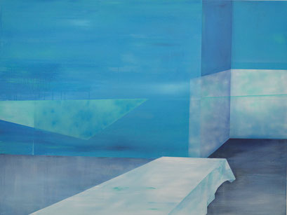 11. 11., 2014, Acryl auf Leinwand, 210 x 160 cm