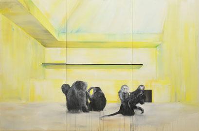 Sammelsurium 60316, 2014,  Acryl auf Leinwand, 300 x 200 cm