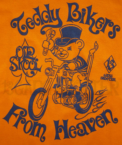 Teddy Bikers From Heaven Tee/テディバイカーTシャツ