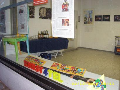 Vernissage GastkünstlerInnen WAZ-WAT 02-10-2012