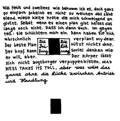 antrieb und handlung (+die pause dazwischen),  arbeitsbegleitende gedankenskizze, copyright chantal labinski 2013