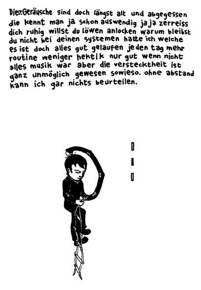 strickleiter, arbeitsbegleitende gedankenskizze, copyright chantal labinski 2013