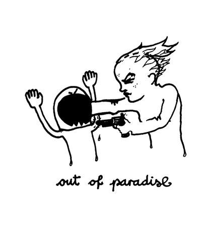 out of paradise, arbeitsbegleitende gedankenskizze, copyright chantal labinski 2013