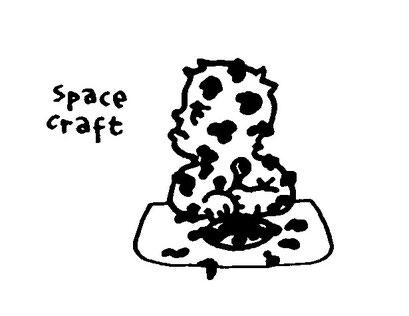 spacecraft, arbeitsbegleitende gedankenskizze, copyright chantal labinski 2013