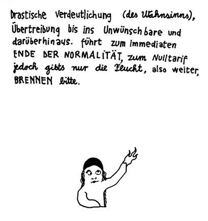 wahnsinn, arbeitsbegleitende gedankenskizze, copyright chantal labinski 2013