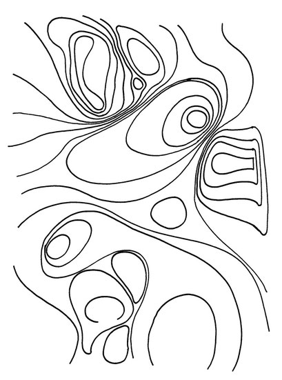 lines on paper, arbeitsbegleitende gedankenskizze, copyright chantal labinski 2013