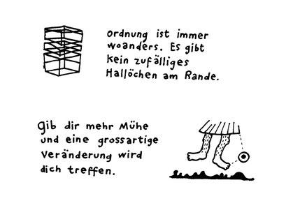 ordnung, arbeitsbegleitende gedankenskizze, copyright chantal labinski 2013