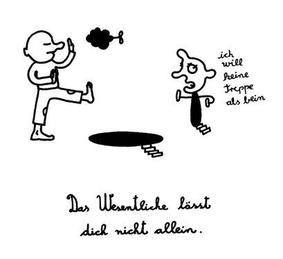 das wesentliche, arbeitsbegleitende gedankenskizze, copyright chantal labinski 2013