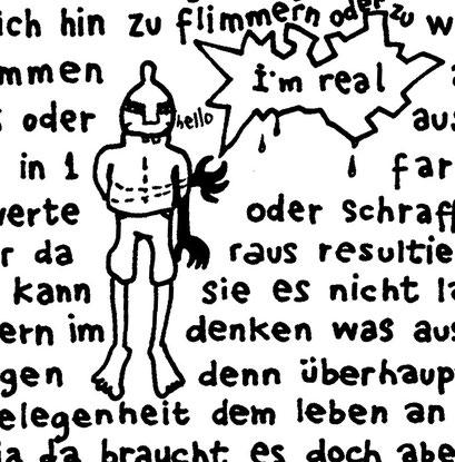 I'M REAL; arbeitsbegleitende gedankenskizze, copyright chantal labinski 2013