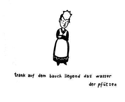 pfuetzen, flaubert, arbeitsbegleitende gedankenskizze, copyright chantal labinski 2013