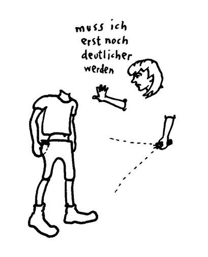 neue deutlichkeit, arbeitsbegleitende gedankenskizze, copyright chantal labinski 2013