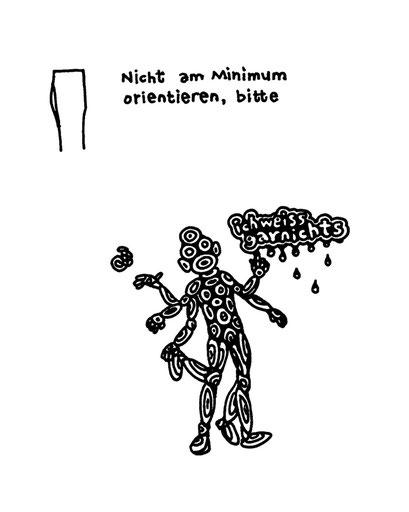 minimum, arbeitsbegleitende gedankenskizze, copyright chantal labinski 2013
