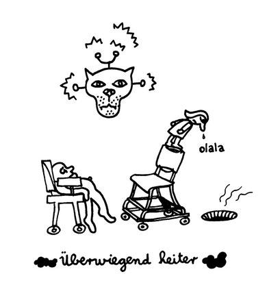 heiter, arbeitsbegleitende gedankenskizze, copyright chantal labinski 2013