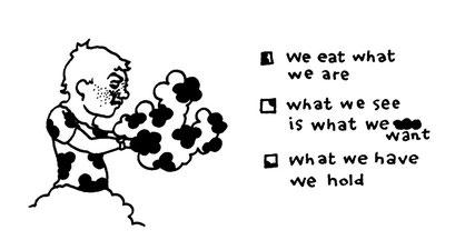what we have we hold, arbeitsbegleitende gedankenskizze, copyright chantal labinski 2013