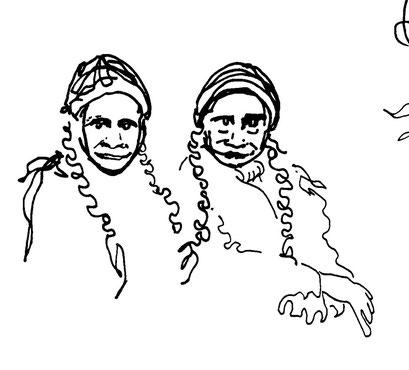 twins, arbeitsbegleitende gedankenskizze, copyright chantal labinski 2013