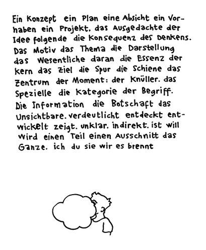 konzept, arbeitsbegleitende gedankenskizze, copyright chantal labinski 2013