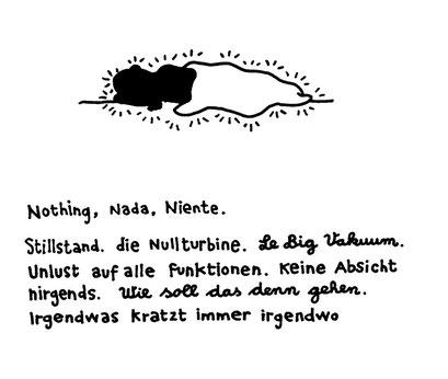 irgendwas stimmt immer nicht, arbeitsbegleitende gedankenskizze, copyright chantal labinski 2013