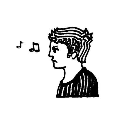 music boy, arbeitsbegleitende gedankenskizze, copyright chantal labinski 2013