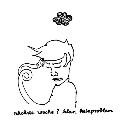 no problem, arbeitsbegleitende gedankenskizze, copyright chantal labinski 2013