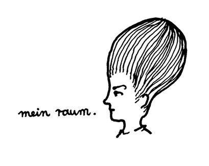 mein raum/ my space, arbeitsbegleitende gedankenskizze, copyright chantal labinski 2013