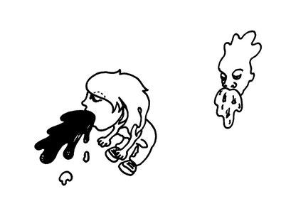 vomiting, arbeitsbegleitende gedankenskizze, copyright chantal labinski 2013