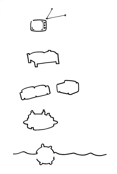 moebel, arbeitsbegleitende gedankenskizze, copyright chantal labinski 2013
