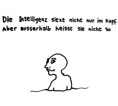 no intelligence, arbeitsbegleitende gedankenskizze, copyright chantal labinski 2013