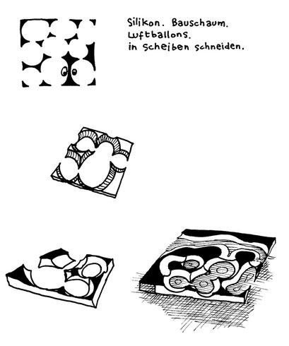 models, arbeitsbegleitende gedankenskizze, copyright chantal labinski 2013